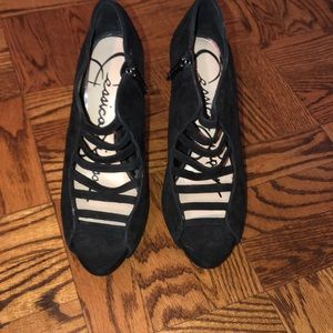 Jessica Simpson black heels size 9
